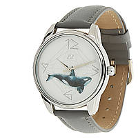 "Часы ZIZ маст-хэв ""Кит"" (серый, серебро) 1413711"