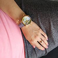 """Часы ZIZ маст-хэв """"Париж"""" (серый, золото) 1414211"""