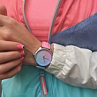 """Часы ZIZ маст-хэв """"Розовый кварц и безмятежность"""" (голубо-розовый, серебро) 1415016"""
