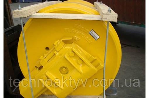 Направляющие (натяжные) колеса - ленивец KOMATSU D375A-1(D), D375A-2(S), D375A-2(D)
