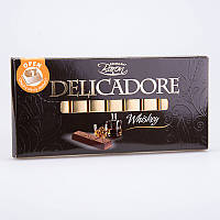 Шоколад Delicadore Whiskey (Деликадор виски) 200 г. Baron Польша