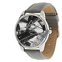 """Часы ZIZ маст-хэв """"Тропический"""" (серый, серебро) 1415711"""
