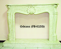 Мраморный камин Odessa FB-025B