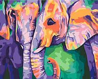 Раскраска по номерам без коробки Идейка Краски Индии (KHO2456) 40 х 50 см