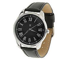"""Часы ZIZ маст-хэв """"Римская классика в черном"""" (черный, серебро) 1416201"""