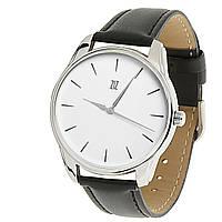 """Часы ZIZ маст-хэв """"Черным по белому"""" (черный, серебро) 1416301"""