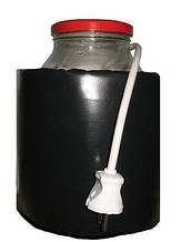 Декристаллизатор, роспуск мёда в банке 3л. Разогрев до +40°С.
