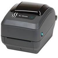 Настольный принтер штрих кодов ZEBRA GK-420D/GK-420T