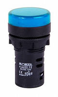 Светосигнальная арматура e.ad22.230.blue Ø22мм 230В АС синяя