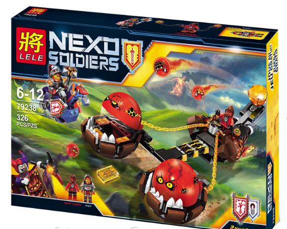 """Конструктор Nexo Knights 79238 """"Безумная колесница Укротителя"""" (326 дет)"""