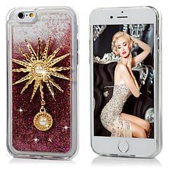 Glitter 3D Diamond Luxury Quicksand Dinamic Liquid TPU Case для iPhone 6/6S