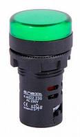 Светосигнальная арматура e.ad22.230.green Ø22мм 230В АС зеленая