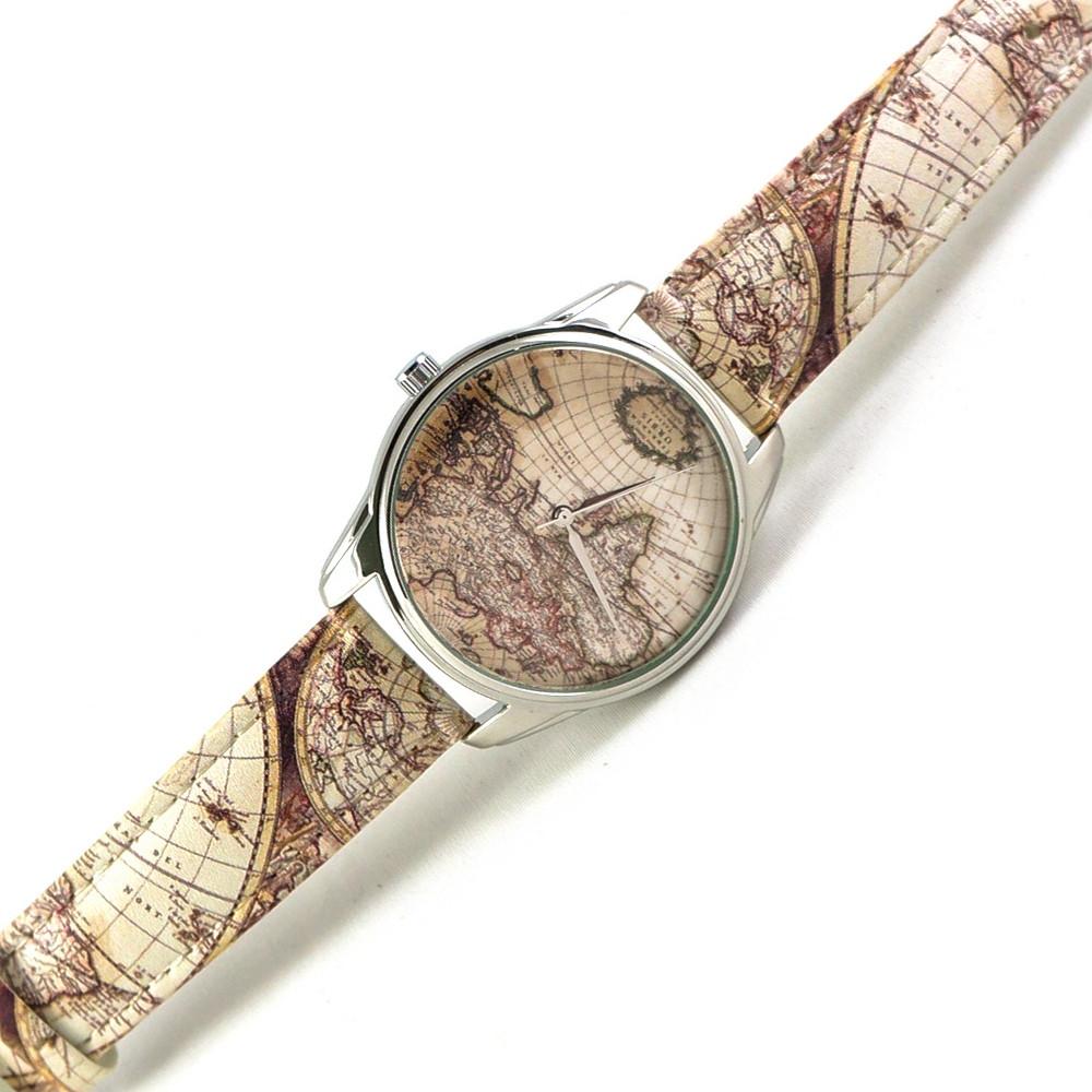 """Часы ZIZ арт """"Карта"""" 1504305"""