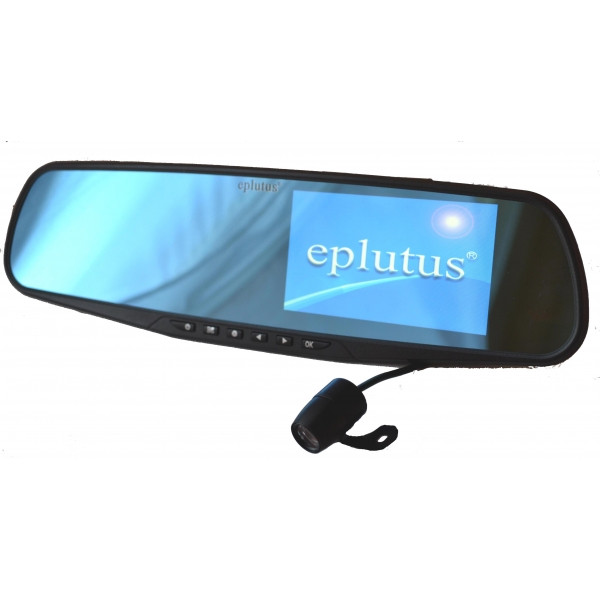 Зеркало+монитор+видеорегистратор+камера