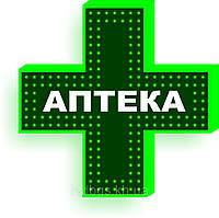 Led крест для аптеки (600х600), фото 1