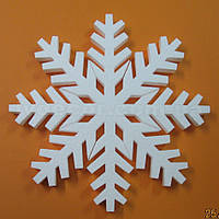 Снежинка из пенопласта SN5