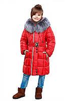 Стильная курточка красного цвета