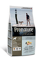 Pronature Holistic Dog Adult Atlantic Salmon & Brown Rice 340 г - холистик  корм для собак (лосось/рис)