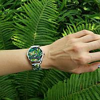 """Часы ZIZ арт """"Пальмовые листья"""" 1512330"""