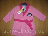 Детский халат для девочек Sun City, 3-6лет