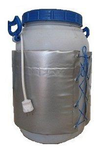 Декристаллизатор, роспуск мёда в пластиковой ёмкости 30л. Разогрев до + 40°С.