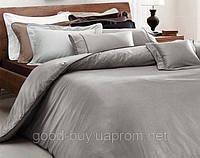 Комплект постельного белья Valeron Crocodile серый