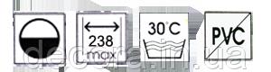 Жалюзі плісе flovers print 1-5610, фото 2