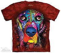 3D футболки The Mountain  Bassett Hound размер 2XL
