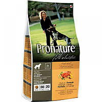 Pronature Holistic (Пронатюр Холистик) Dog DUCK and ORANGE - беззерновой корм для собак (утка/апельсин),2.72кг