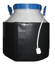 Декристаллизатор, розпуск меду в пластиковій ємності 40л. Розігрів до + 40°С.