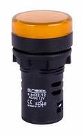 Светосигнальная арматура e.ad22.230.yellow Ø22мм 230В АС желтая