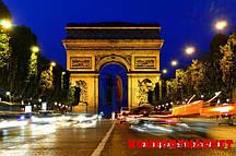 """Фотообои: """"Ночная триумфальная арка"""""""