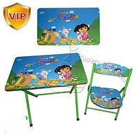 Детский столик и  стульчик(Dora)