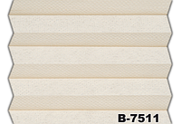 Жалюзі плісе madison duotone B-7511