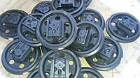 Направляющие (натяжные) колеса - ленивец KUBOTA KX101, KX121-2, KX161.2, KH191, KH027 , фото 1