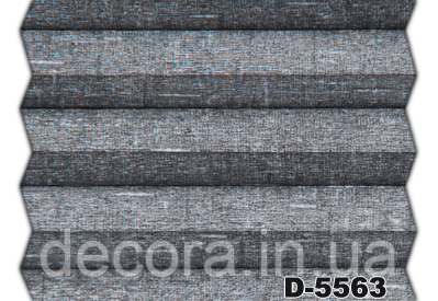 Жалюзі плісе charlestone blackout D-5563