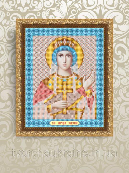 Авторская канва для вышивки бисером «Святая Мученица Елена»