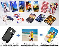 Печать на чехле для Samsung Galaxy J1 mini J105H (Cиликон/TPU)