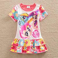 Платье-туника My Little Pony с коротким рукавом