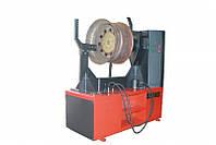 Стенд для механизированной рихтовки литых дисков колес  грузовых автомобилей