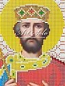 Авторская канва для вышивки бисером «Святой Великий Царь Константин», фото 2