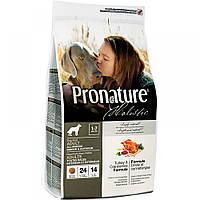Pronature Holistic (Пронатюр Холистик) Dog TURKEY and CRANBERRIES - корм для собак (индейка/клюква), 2.72кг