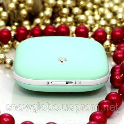 Аккумулятор - грелка PowerBank Jewelry Box Голубой