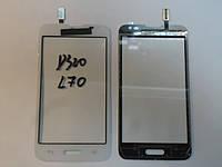 Сенсор LG D320 D321 MS323 Optimus L70 White orig