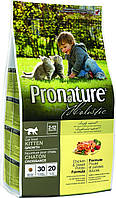 Pronature Holistic Kitten Chicken & Sweet Potato 2.72 кг - сухой холистик корм для котят (курица/батат)