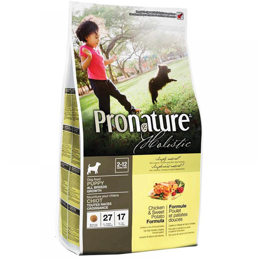 Pronature Holistic Puppy Chicken & Sweet Potato 340 г - холистик корм для щенков всех пород (курица/батат)