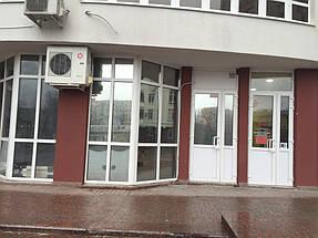 Тонировка зеркальной пленкой офиса на пр.Гагарина.