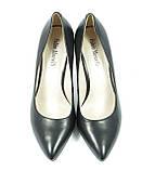 Туфли классические с острым носком на шпильке, фото 3