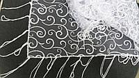 """Свадебный платок для обряда """"снятия фаты"""" (№ 1-3, белый)"""