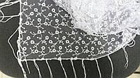 """Свадебный платок для обряда """"снятия фаты"""" (№ 1-6, белый)"""